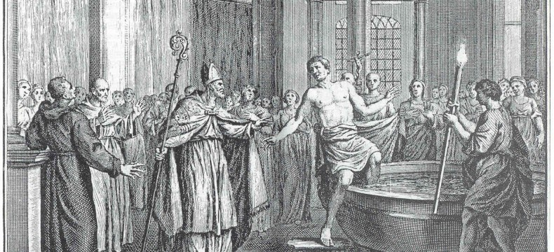 Koning Radboud weigert doop