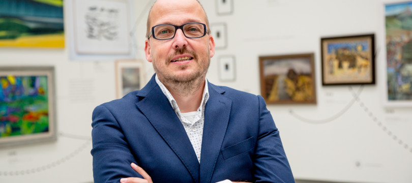 01. Kris Callens, directeur Fries Museum, Fries Verzetsmuseum en Keramiekmuseum Princessehof, Leeuwarden.