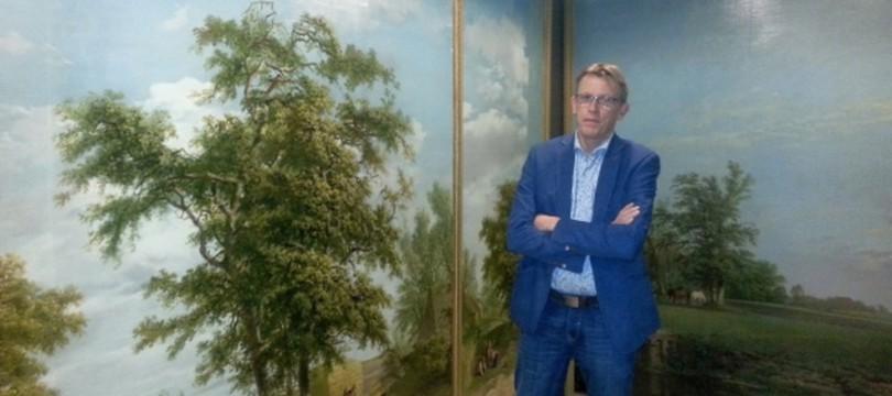 Henk Dijkstra van het Fries Landbouwmuseum