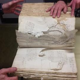 Nedergerechten - digitaliseren van oud archiefmateriaal