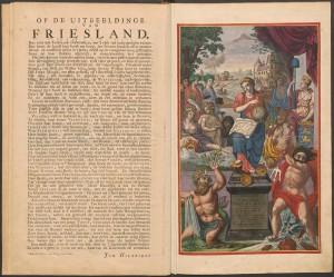 Friesland uitgebeeld